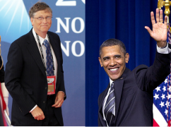 Bill Gates, Barack Obama, and You